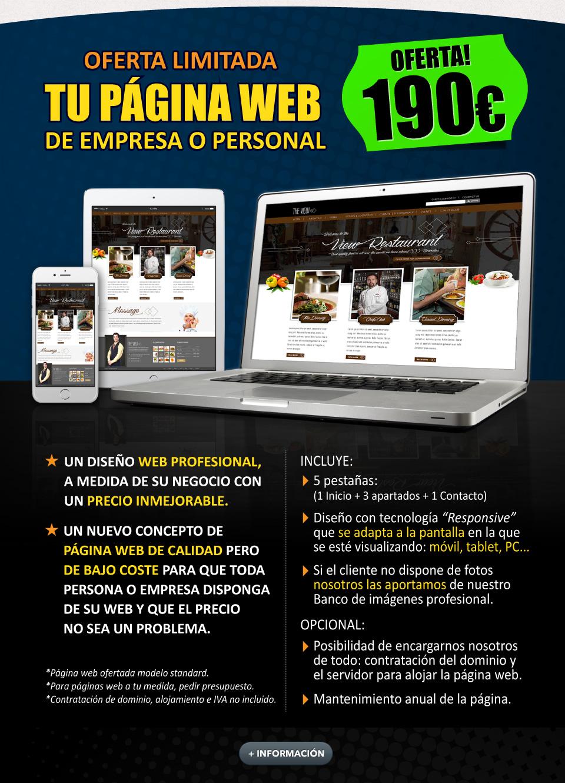 Oferta Páginas Web